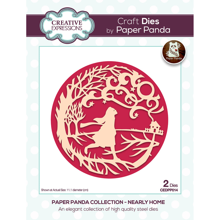 Paper Panda Dies by Creative Expressions - Nearly Home - CEDPP014