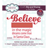 Sue Wilson Stamp & Die Set - Festive Collection - Believe - CEDSD002