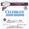 Sue Wilson Die & Stamp Set by Creative Expressions - Celebrate - CEDSD015