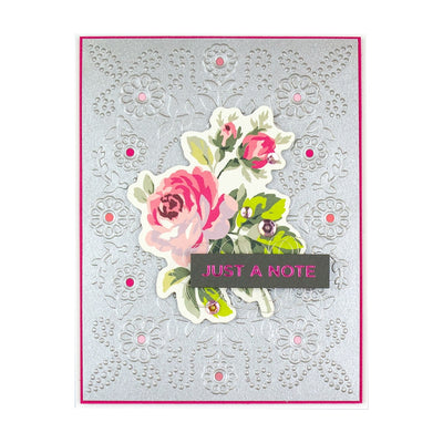 Spellbinders Cut & Emboss Folder - Floral Reflections - CEF-013