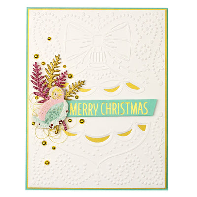 Spellbinders - Classic Christmas Cut and Emboss Folder Holiday 2019 Collection  - CEF-018