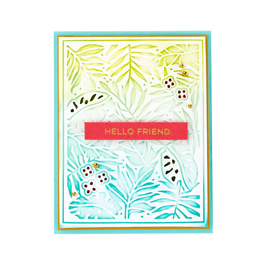 Spellbinders Cut and Emboss Folder - Lahaina  - CEF-029