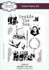 Creative Expressions Rubber Stamp Set: Beside The Sea (CER015)
