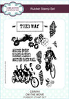 Creative Expressions Rubber Stamp Set: On The Move (CER016)