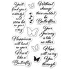 Poppystamps Stamps Set - Butterfly Greetings - CL481