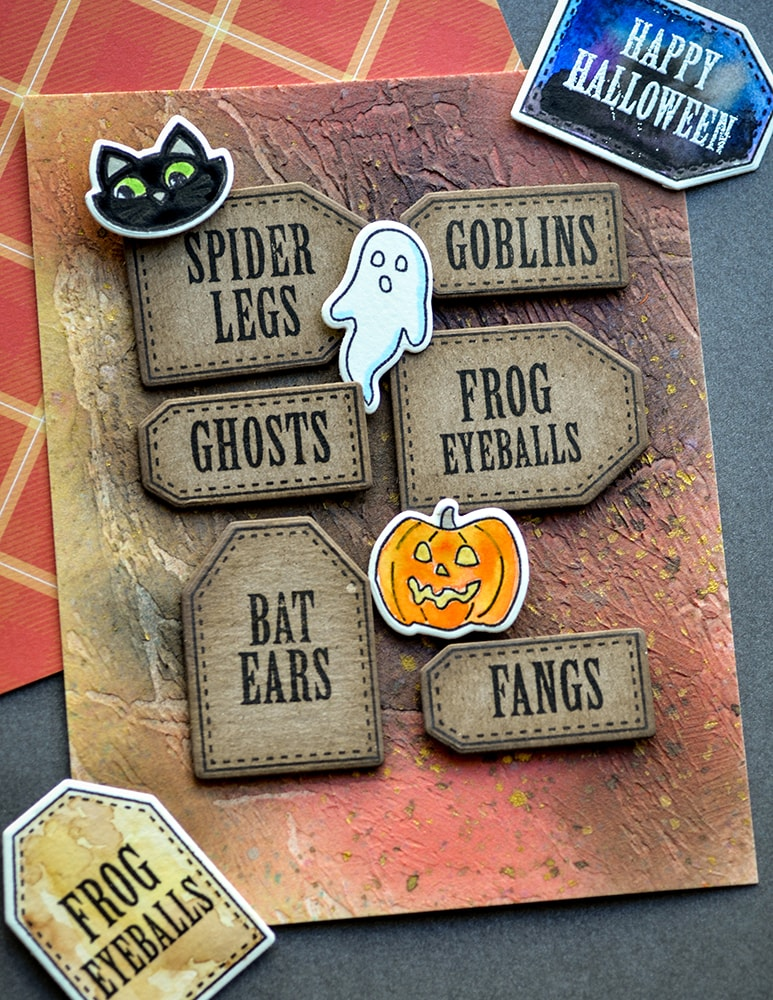 Poppystamps Stamps - Halloween Ingredients - CL493