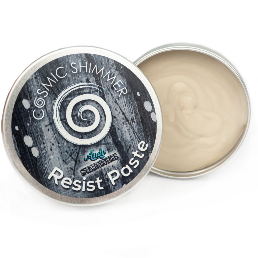 Andy Skinner -  Cosmic Shimmer Resist Paste
