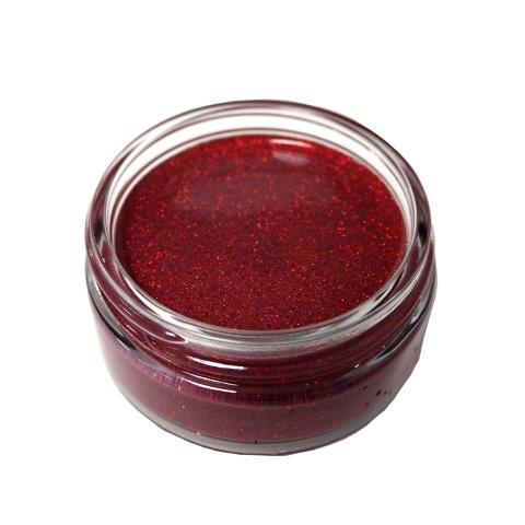 Cosmic Shimmer Glitter Kiss Fire Red