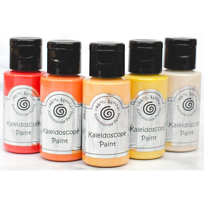 Cosmic Shimmer - Kaleidoscope Paint Set Sunset Boulevard - CSKPSUNSET
