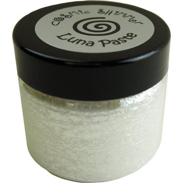 Cosmic Shimmer Luna Paste Moonlight Pearl 50ml