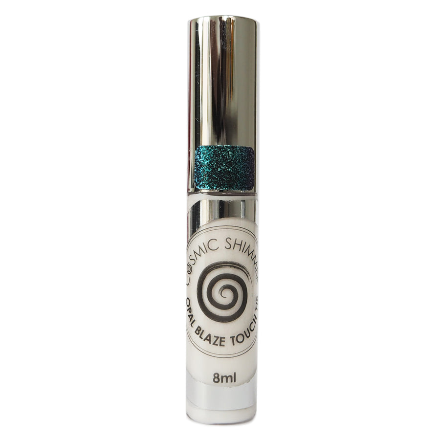 Cosmic Shimmer Opal Blaze - Touch Tip - Teal Raspberry - 8ml