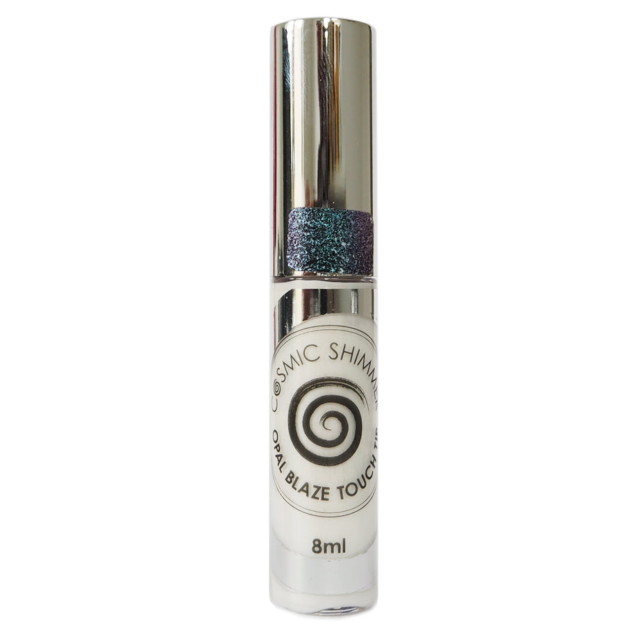 Cosmic Shimmer Opal Blaze - Touch Tip - Turquoise Peach - 8ml