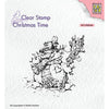 Nellie Snellen Clear Stamp - Christmas Time - Snowman