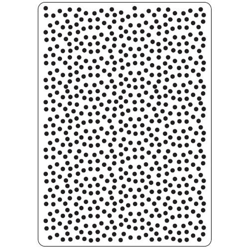 Crafts Too Embossing Folder - Polka Dots