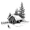 Two Jays Clear Stamp - Festive Farm - CTJJ104