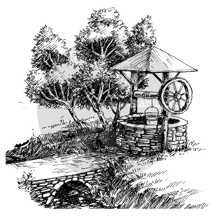 Two Jays Clear Stamp - Wishing Well - CTJJ113