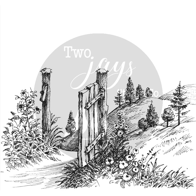 Two Jays Clear Stamp - Gateway - CTJJ117