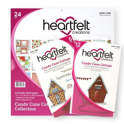 Heartfelt Creations - Candy Cane Cottage Creative Essentials - HCCE1-651