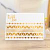 Gemini Foil Stamp Die - Elements - Contemporary Decorative Borders