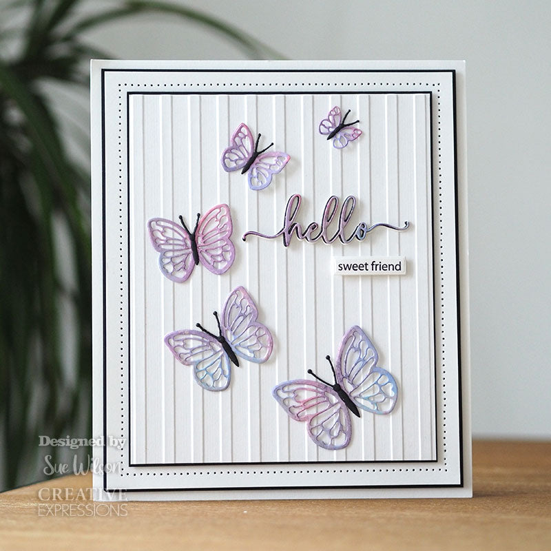Sue Wilson Dies by Creative Expressions - Finishing Touches - Butterfly Delights - CED1533