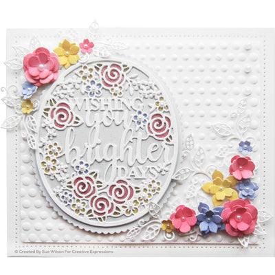 Sue Wilson Embossing Folder - Graduated Dot - EF3D-038