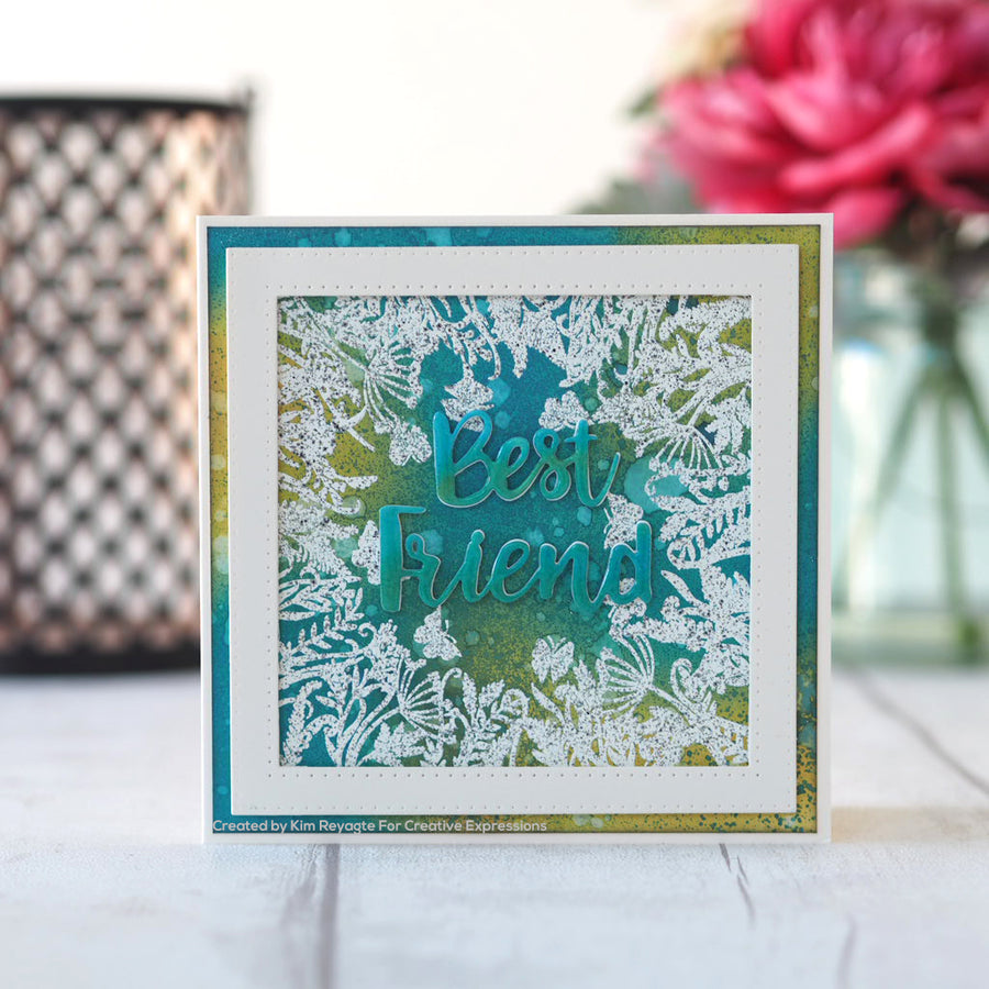 Creative Expressions Stamp - Designer Boutique Collection - A Different View