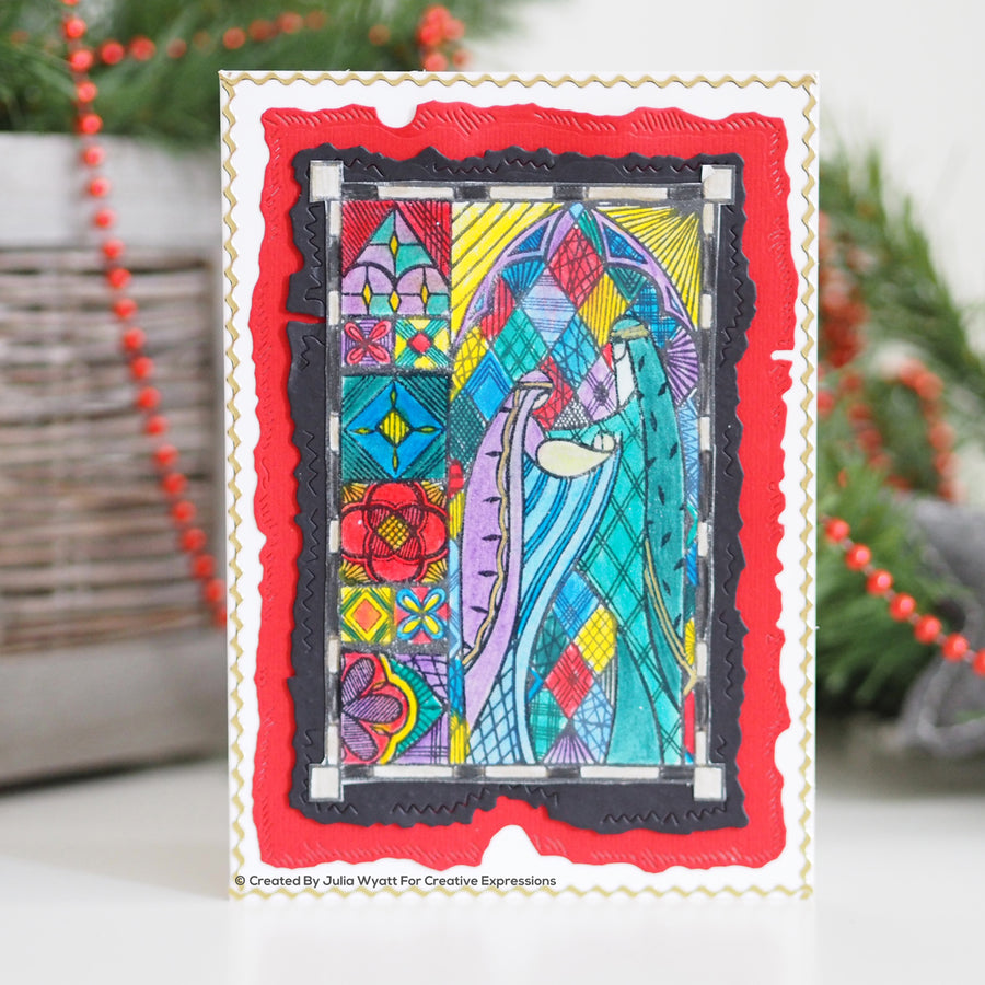 Creative Expressions Stamp - Designer Boutique Collection - Holy Family