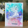 Paper Cuts Festive Edger Die - Winter Cheer Craft Die - CEDPC1140