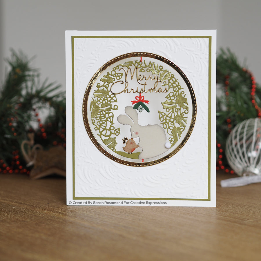 Paper Panda Dies by Creative Expressions  - Merry Christmas - CEDPP004