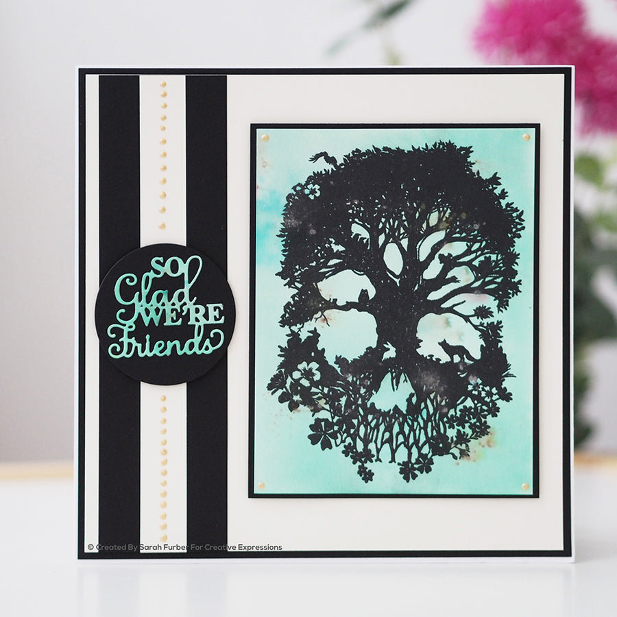 Paper Panda Stamps by Creative Expressions - A Mind To Be Wild - CERPP002