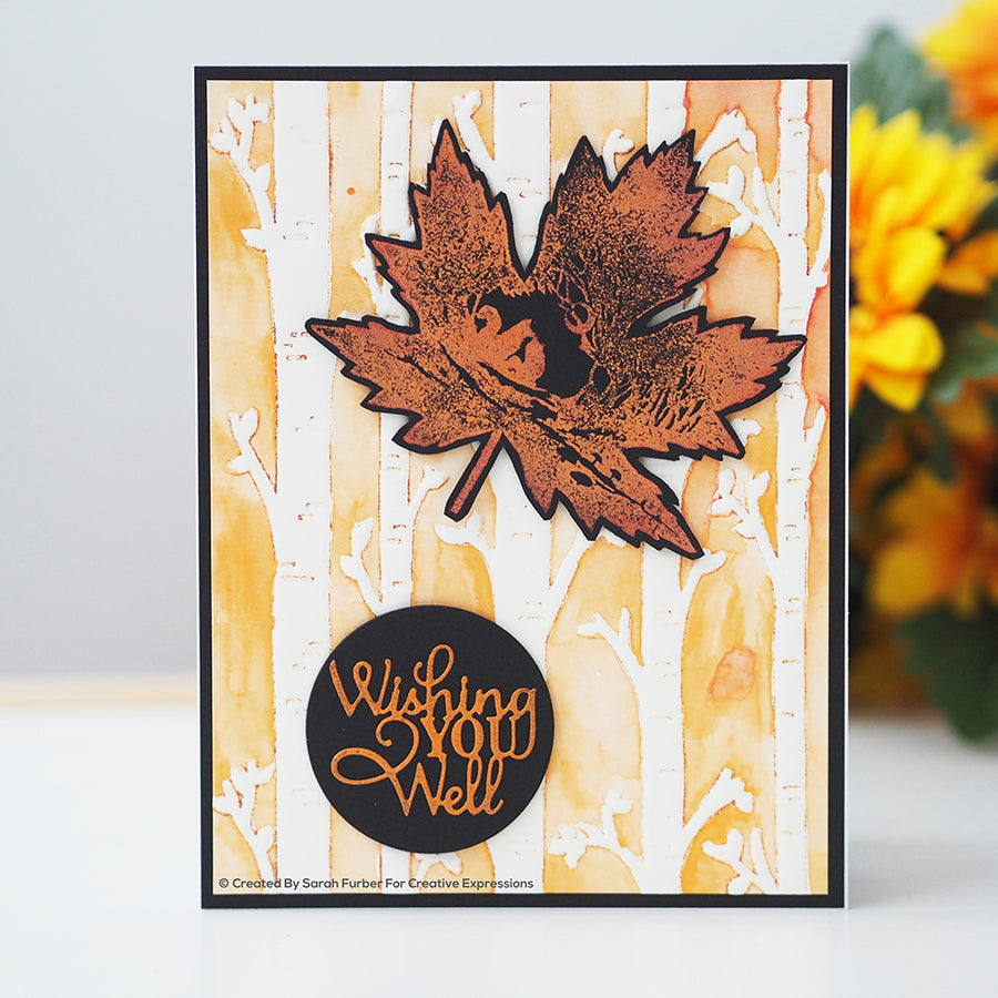 Paper Panda Stamps by Creative Expressions - Fall - CERPP003