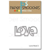 Paper Smooches Dies - Love Word 2