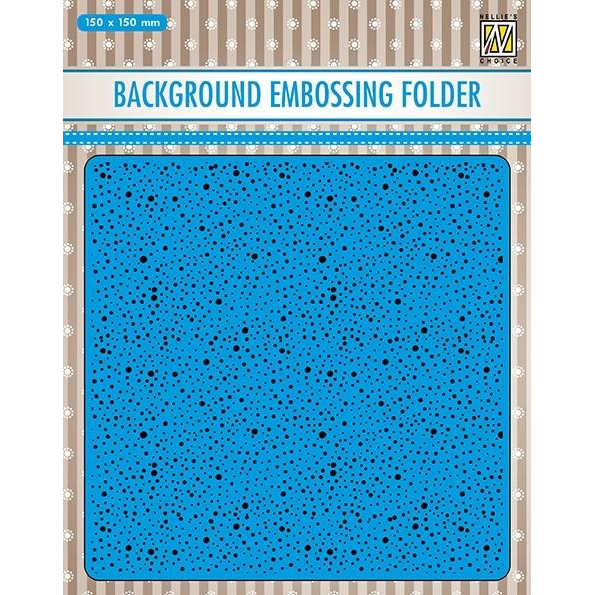 Nellie Snellen Embossing Folder - Dots - EEB030