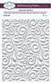 Sue Wilson Emboss Folder 3D - Sublime Swirls - (EF3D-001)