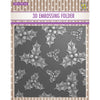 Nellie Snellen 3D Embossing Folder - Holly Leaves & Berries - EF3D014