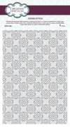 Sue Wilson Pinpoint Embossing Folder: Cross Stitch (EFPP-006)
