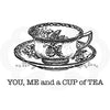Woodware Clear Singles - Cup of Tea - FRM006