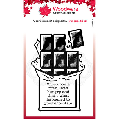 Woodware Clear Singles - Chocolate  - FRM014