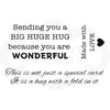 Woodware Clear Singles - Big Hugs - FRM019