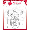 Woodware Clear Singles - Foxy Christmas - FRS082