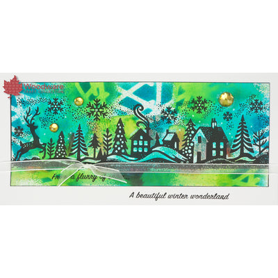 Woodware Clear Singles - Winter Wonderland - FRS388