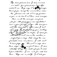 Woodware Stamps Clear Singles - Old Letter - FRS614