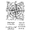 Woodware Stamps Clear Singles - Compass - FRS695