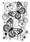 Woodware Stamps Clear Singles - Butterfly Dream - FRS729