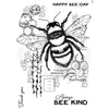 Woodware Clear Singles - Bee Kind - FRS816