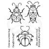 Woodware Clear Singles - Cute Bugs - FRS817