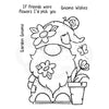 Woodware Clear Singles - Garden Gnome - FRS845