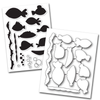 Memory Box Stamp & Die Set - Fish Tales - 32203/CL5205