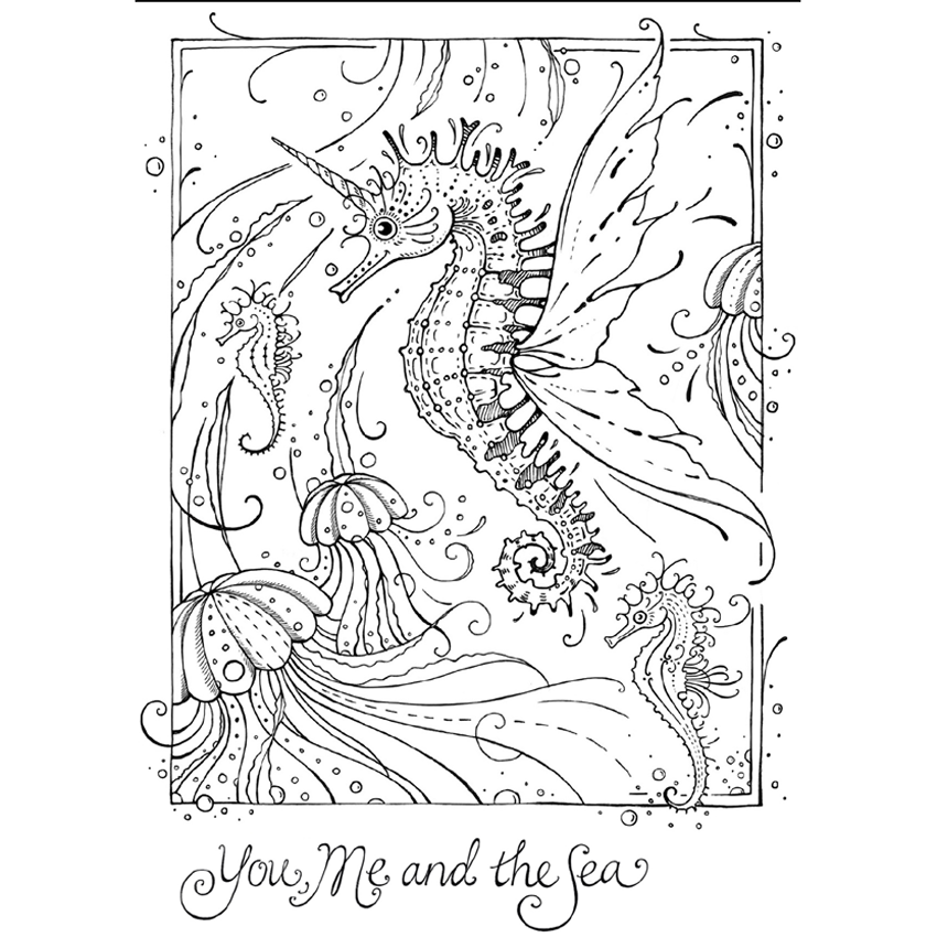 Pink Ink Designs - Stamp & Die Set - Flight of Fantasy