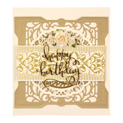 Spellbinders Glimmer Hot Foil Plate - Gilded Trimmings - The Gilded Age by Becca Feeken - GLP-121